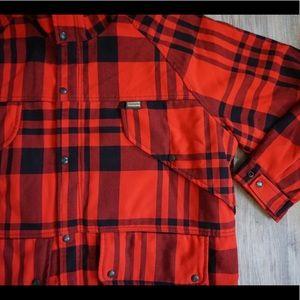 944d1433ac785 Vintage Jackets & Coats - VTG Remington Field Jacket Bird Hunt Buffalo Plaid